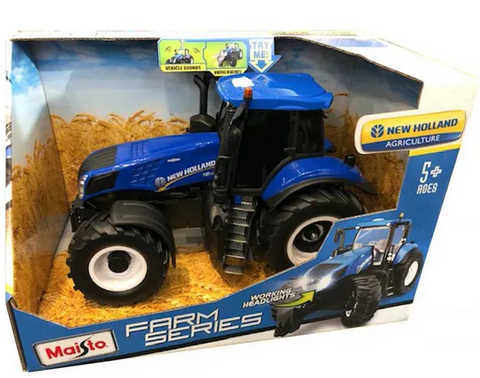 New Holland with sound lights and drive