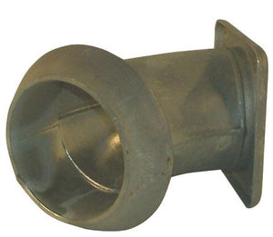 "Perrot Male 8"" 45° square flanged elbow"