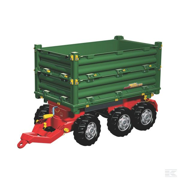 Multi trailer triple axle 3 side tipper