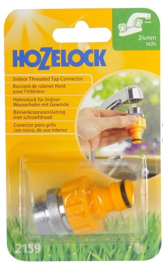 HOZELOCK KITCHEN TAP CONNECTOR 24mm x M24M
