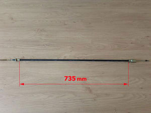 Brake Cable 735MM Outer Measurement