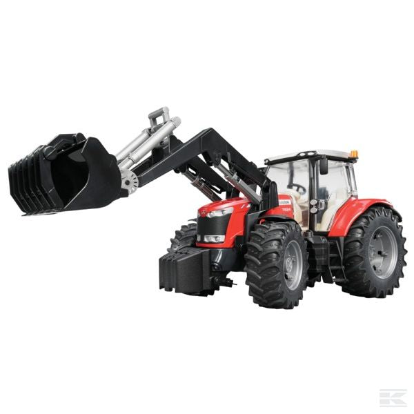 Massey Ferguson 7600 with front loader Scale Model 1/16