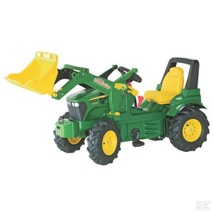 John Deere 7930 with front loader, gearing, brake and air wheels Ride On Tractor