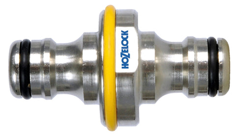 Hozelock Pro Metal Double Male Connector
