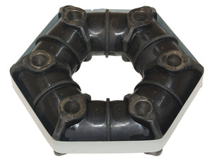 COUPLING RUBBER 6-HOLE 100mm (suitable for Wylie toppers only)