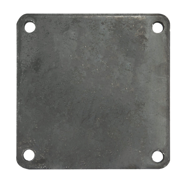 "6"" Blank Off Plate With Rubber Seal"