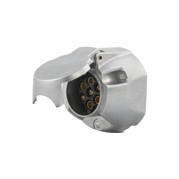 7-Pin Aluminium Socket