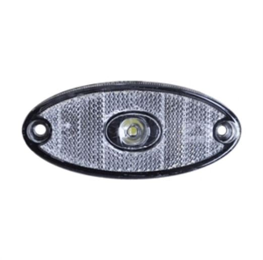 Nugent Clear LED Oval Marker Light