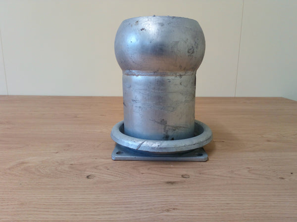 "6"" Male Italian Fitting With 4 Bolt Flange (Long Shaft)"