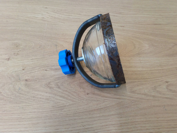 "4"" Glass Clamp And Bowl"