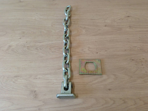 Flail Chain With Head And Plate (13 Links) 1/2""