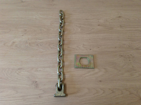 Flail Chain With Head And Plate (15 Links) 1/2""