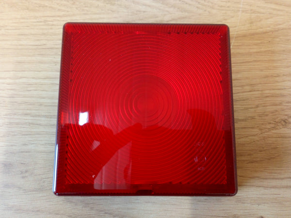 Ifor Williams Square Tail Light Lens For Rubber Lamp