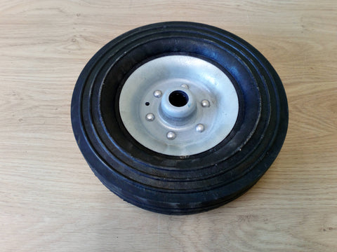 Large Solid Rubber Jockey Wheel Replacement Wheel