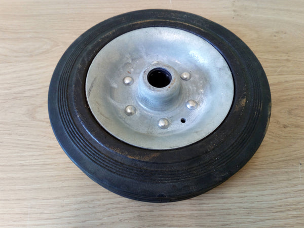 Solid Rubber Small Jockey Wheel, Replacement Wheel