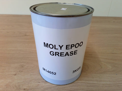Gem OIls 3KG Tin Of Moly EP00 Grease Semi Liquid