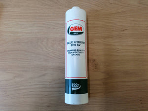 Gem Oils 500g Blue Lithium EP2 SV Premium Quality, High Viscosity Grease