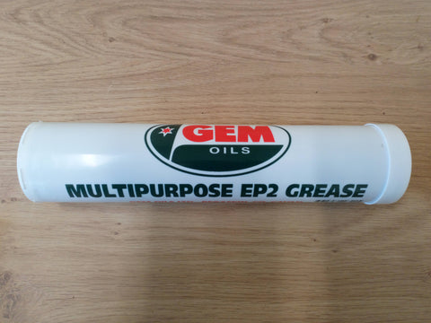 Gem Oils Multipurpose EP2 Grease (Standard Gun) 400g