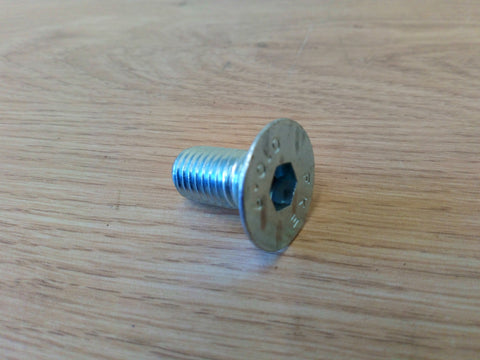M12 x 25 Countersunk Bolt