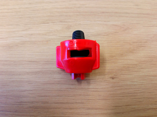 Nozzle Cap Complete With Red Tip, O Ring And Filter