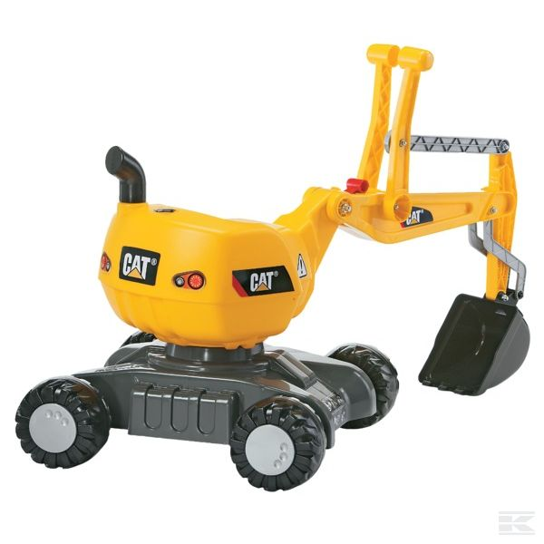 CAT Digger with wheels