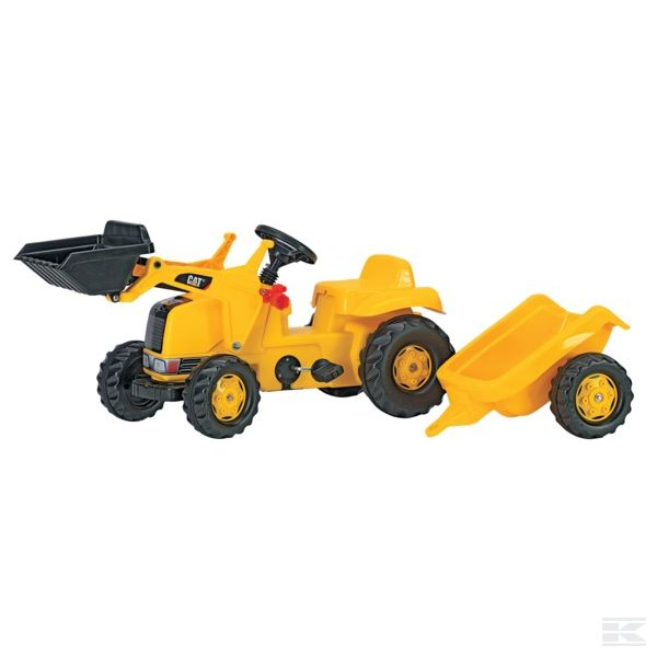 RollyKid JCB with front loader and trailer