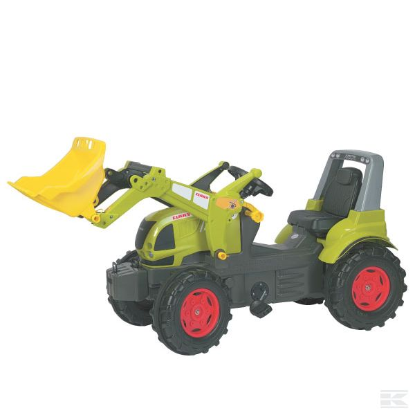 Claas Arion with Front loader
