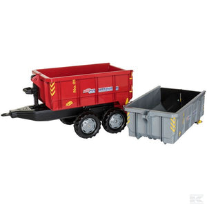 Rolly Container set (red/grey)
