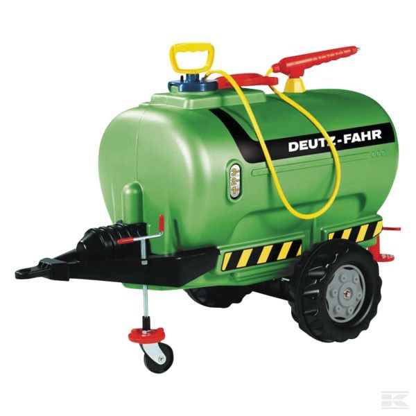 DEUTZ-FAHR slurry tanker with sprayer