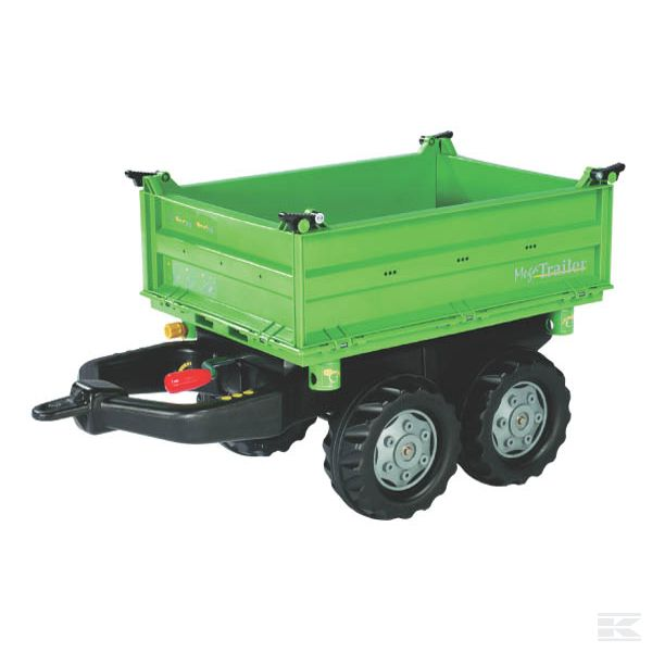 Mega trailer DEUTZ Green
