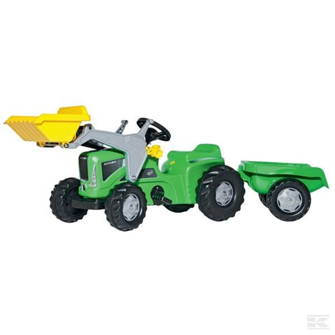 Rollykiddy Futura with front loader and Trailer