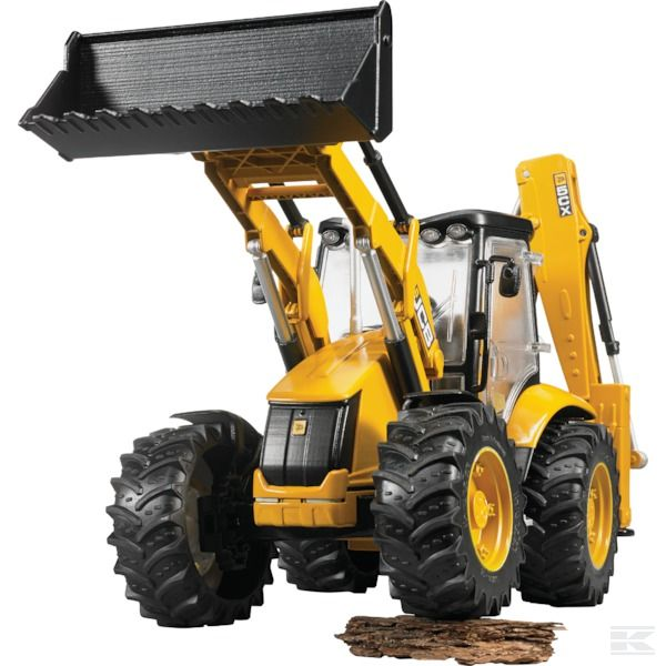 JCB digger loader 5CX eco Scale Model 1/16