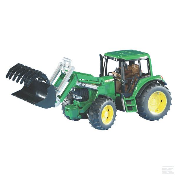 John Deere 6920 with front loader Scale Model 1/16