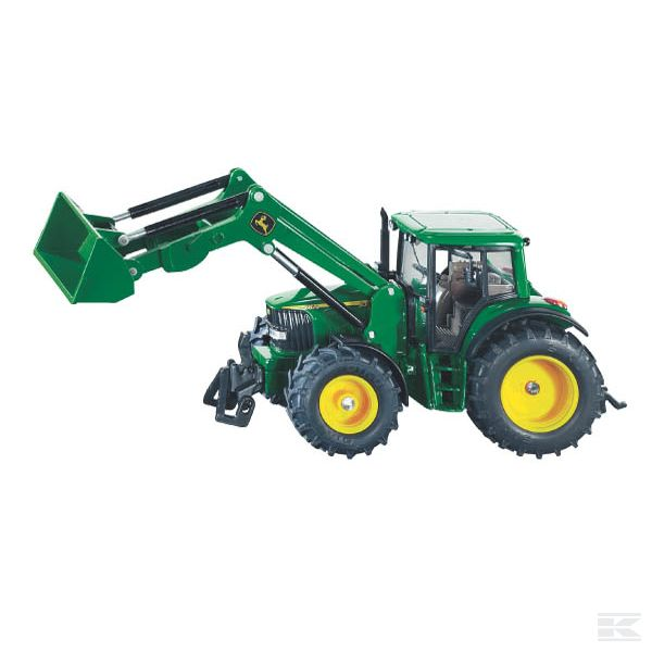 John Deere & front loader Scale Model 1/32