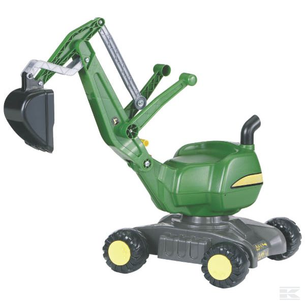 John Deere Digger with wheels