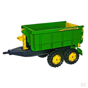Trailer with hook system John Deere