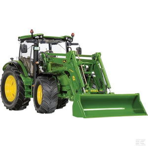 John Deere 6125R with front loader Scale 1/32