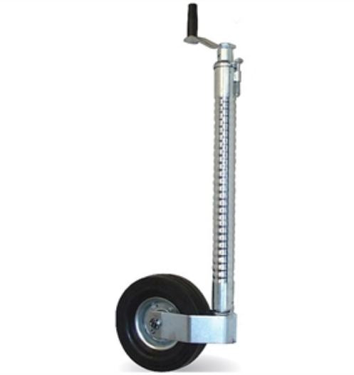 Heavy Duty 48mm Jockey Wheel (Ribbed) - Kartt