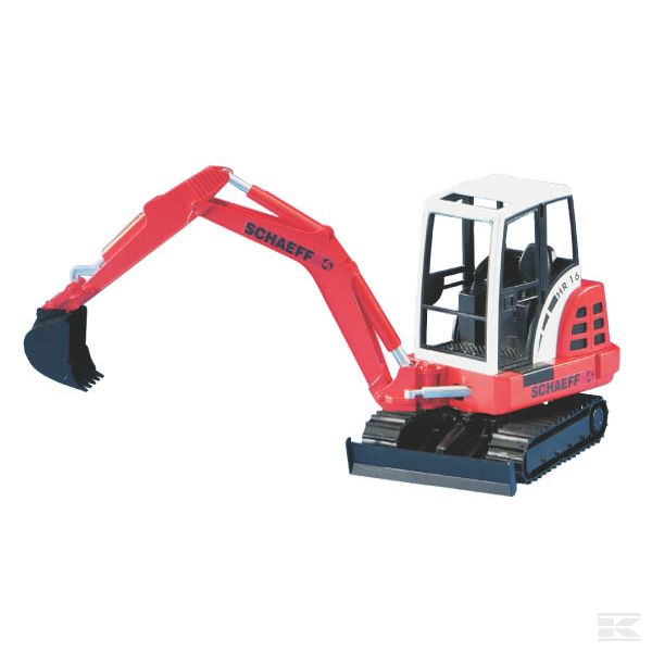 Schaeff HR 16 mini excavator Scale Model 1/16