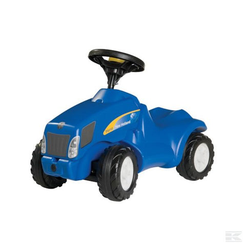 New Holland T 6010 push tractor