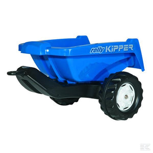 Rolly Tipping trailer blue