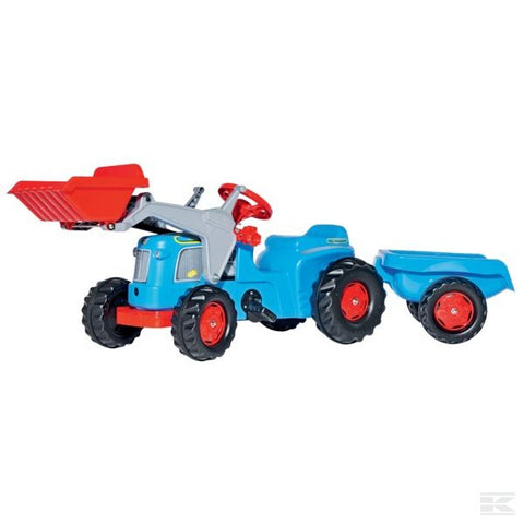 Rollykiddy Classic with front loader and Trailer