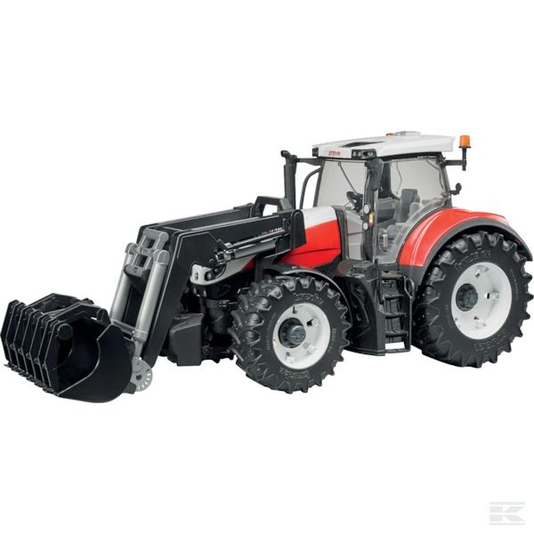 Steyr 6300 Terrus with front loader Scale Model 1/16