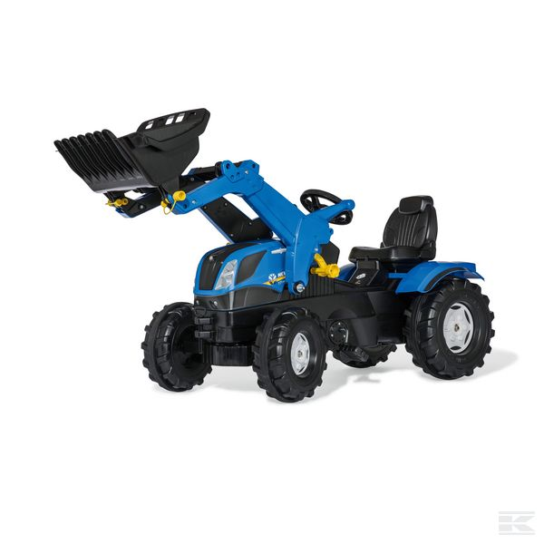 New Holland T7 with front loader