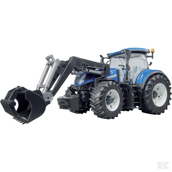 New Holland T7.315 with front loader Scale Model 1/16