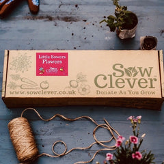 Sow Clever Seed Kit - Little Sowers Flowers