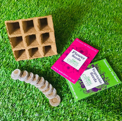 Sow Clever Mini Seed Kit - Sweet Pea