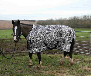 Couverture Impermeable Zebre - SHOP HORSE