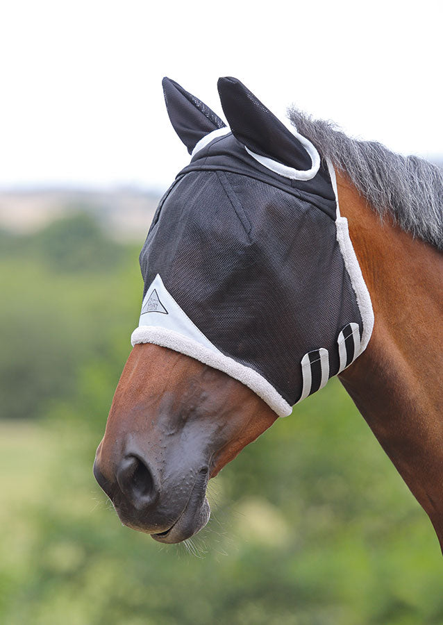 Shires Masque Anti-Mouches Durable
