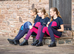 Wessex Jodhpurs Bicolor Junior - SHOP HORSE